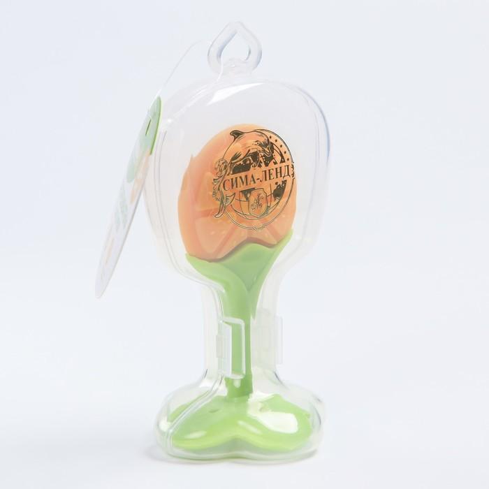 Прорезыватель силиконовый «Крошка Я. Апельсинка»