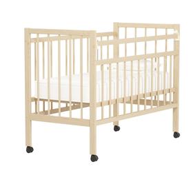 Кровать детская «Колибри Мини» на колёсах, цвет натуральный