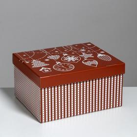 Складная коробка «Яркий праздник», 31,2 х 25,6 х 16,1 см
