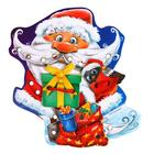 """Lace-up figure """"Santa Claus with gifts"""", the 4 elements"""