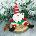 """Soft toy """"Santa Claus"""" in shorts 10*30 cm"""
