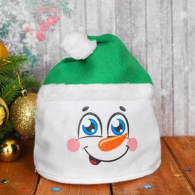Карнавальная шляпа «Снеговик», р-р. 56, цвета МИКС в Донецке