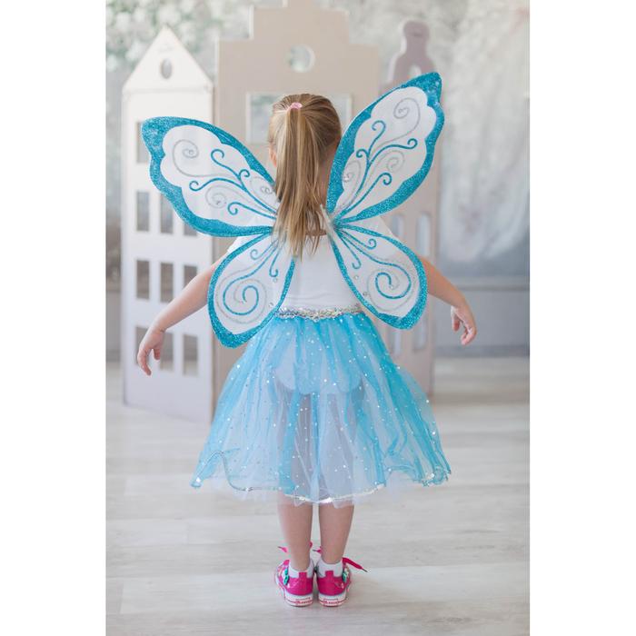 Карнавальный набор «Волшебная фея», 2 предмета: крылья, юбка - фото 105446184