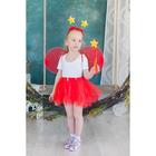 Карнавальный набор «Звезда», 4 предмета: крылья, ободок, юбка, жезл - фото 105446191