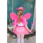 """Карнавальный набор """"Бабочка"""", крылья, ободок, юбка, жезл, 3-5 лет"""