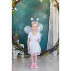 """Карнавальный набор """"Ангел"""" 4 предмета: крылья, ободок, юбка, жезл"""