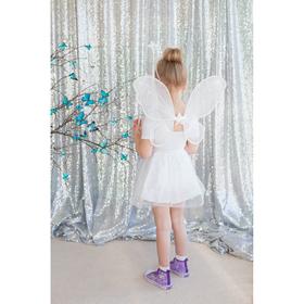Карнавальный набор «Ангелочек», 4 предмета: крылья, ободок, юбка, жезл, 3-5 лет