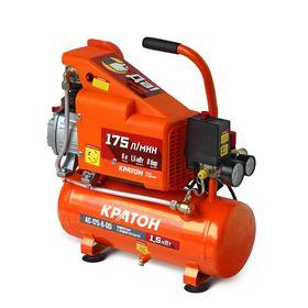 Компрессор Кратон AC-175-6-DD, 1.5 кВт, 6 л, 8 бар, прямая передача