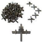 """Крестики EUROTEX """"ПРОФИ"""" 2,0 мм, для кладки плитки с ограничителем (50 шт/уп)"""