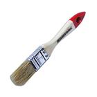 Кисть SANTOOL плоская 25 мм, натуральная щетина деревянная ручка