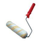 Валик SANTOOL, полиэстер, 225 мм, ручка d=8 мм, ворс 12 мм, желтая нить
