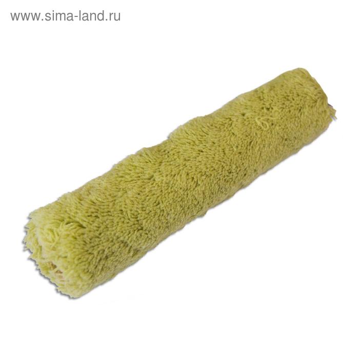 Валик сменный SANTOOL, полиакрил, 250 мм, ручка d=6 мм, D=40 мм, ворс 18 мм, зеленый
