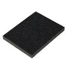 Губка SANTOOL для шлифования 125x100x10 мм Р60/80 (№25/16)