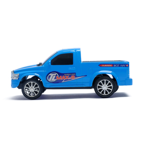 Machine a radio-controlled Pickup, 1:24 scale, battery powered MIX color