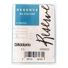 Трости Rico DCR0225 Reserve  для кларнета Bb, размер 2.5, 2шт.