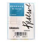Трости Rico DCR0220 Reserve  для кларнета Bb, размер 2.0, 2шт.