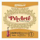 Отдельная струна D'Addario J5601W-4/4M Pro-Arte  Е/Ми для скрипки размером 4/4