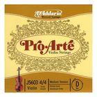Отдельная струна D'Addario J5603-4/4M Pro-Arte  D (Ре) для скрипки размером 4/4