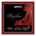 Отдельная струна D'Addario K311GL-4/4M Kaplan  Е/Mи для скрипки 4/4, позолоч, ср. натяж