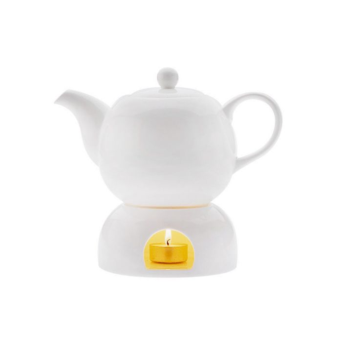 """Чайник на подставке """"Лилия"""", в подарочной упаковке"""