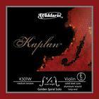 Отдельная струна D'Addario K301W Kaplan  Е/ми для скрипки размером 4/4, среднее натяжение