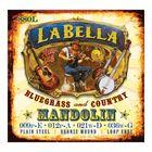 Комплект струн для мандолины La Bella 880L  фосфор-бронза