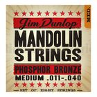 Комплект струн для мандолины Dunlop DMP1140 фосф.бронза, Medium, 11-40