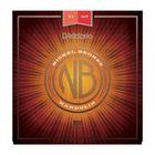Струны для мандолины D'Addario NBM1140 Nickel Bronze  фосфорная бронза, Medium, 11-40
