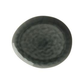 Тарелка Artisan 33 × 29 см, буря серая
