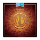Струны для мандолины D'Addario NBM1038 Nickel Bronze  фосфорная бронза, Light, 10-38
