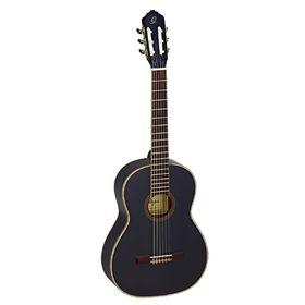 Классическая гитара Ortega R221BK Family Series размер 4/4, черная, с чехлом