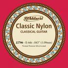 Отдельная 6-ая струна D'Addario J2706 Classical Отдельная 6-ая струна для классической гитары, нейло