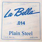 Отдельная стальная струна La Bella PS014  014