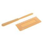 Набор кондитерский 2 шт: лопатка 22,5 см, шпатель 15х7 см