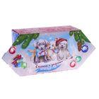 Сборная коробка‒конфета «Счастья и радости круглый год», 9,3 х 14,6 х 5,3 см