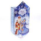 Сборная коробка‒конфета «Дед Мороз и Снегурочка», 9.3 × 14.6 × 5.3 см