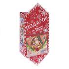 Сборная коробка‒конфета «От Дедушки Мороза», 14 × 22 × 8 см