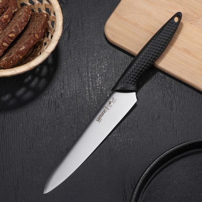 Нож кухонный Samura Golf, универсальный, лезвие 15,8 см, сталь AUS-8