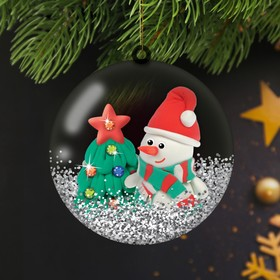 "Set to create Christmas decorations ""fairy Tale ball"" Snowman with weight for modeling"