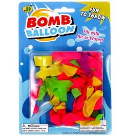 Водяные бомбочки, набор 70 шариков, насадка Ош