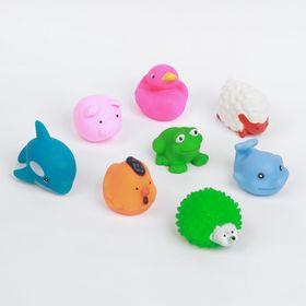 Набор игрушек для ванны «Пищалки», 8 шт.