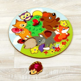 """Puzzle """"Forest dwellers"""""""