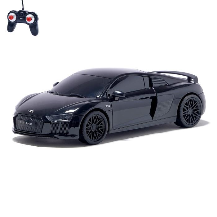 """Машина радиоуправляемая """"Audi R8"""", масштаб 1:24, работает от батареек, свет , МИКС"""