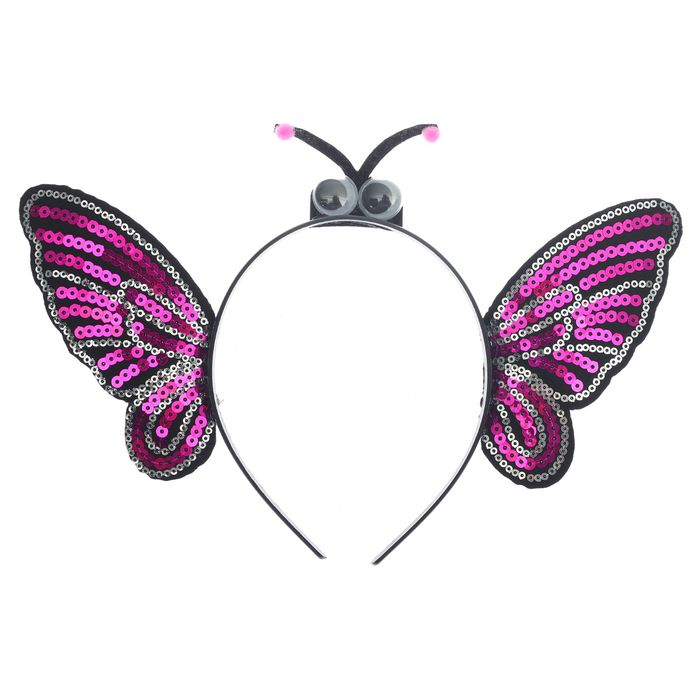 Карнавальный ободок «Бабочка» - фото 456213