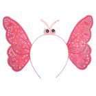 """Carnival headband """"Butterfly"""", color pink"""
