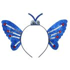 "Carnival headband ""Wings"" with eyes"