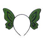 """Carnival headband """"Butterfly"""", green"""