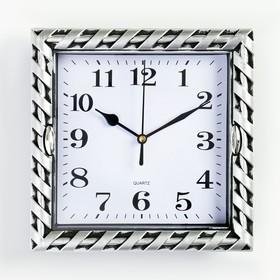 """Часы настенные, серия:Классика, """"Жаклин"""", дискретный ход, 20.5 х 20.5 см, d циферблата=16 см в Донецке"""