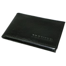 Визитница, лист на 1 визитку, 24 визитки, цвет чёрный