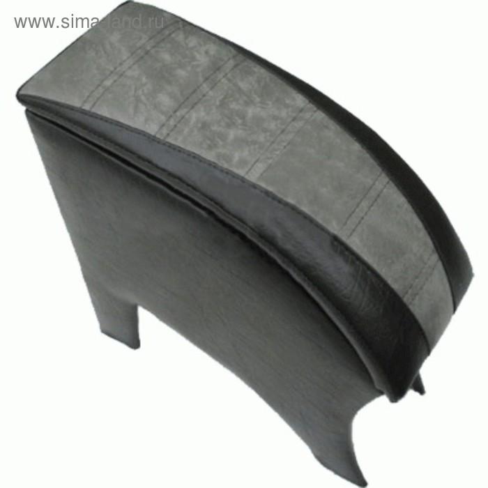 Подлокотник ВАЗ 2110-12 МЯГКИЙ, серый
